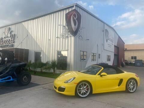 2014 Porsche Boxster for sale at Barrett Auto Gallery in San Juan TX