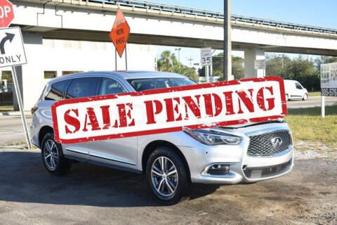 2020 Infiniti QX60 for sale at ELITE MOTOR CARS OF MIAMI in Miami FL