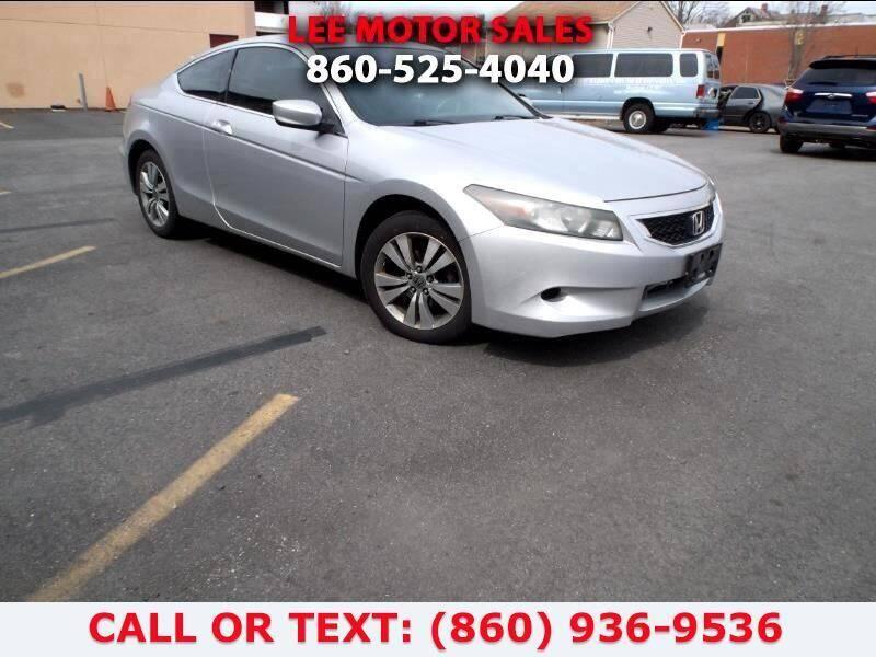 2009 Honda Accord for sale at Lee Motor Sales Inc. in Hartford CT