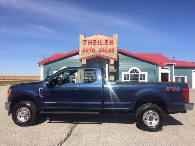 2017 Ford F-350 Super Duty for sale at THEILEN AUTO SALES in Clear Lake IA