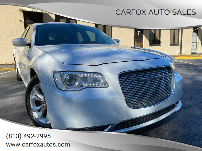 2015 Chrysler 300 for sale at Carfox Auto Sales in Tampa FL