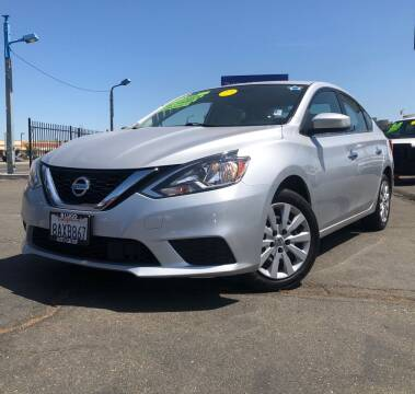 2018 Nissan Sentra for sale at LUGO AUTO GROUP in Sacramento CA