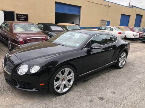 2013 Bentley Continental for sale at Prestigious Euro Cars in Fort Lauderdale FL