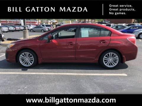 2012 Subaru Impreza for sale at Bill Gatton Used Cars - BILL GATTON ACURA MAZDA in Johnson City TN