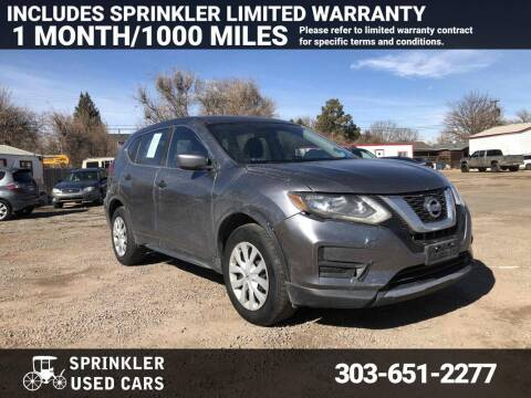 2017 Nissan Rogue for sale at Sprinkler Used Cars in Longmont CO