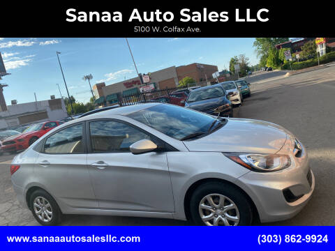 2014 Hyundai Accent for sale at Sanaa Auto Sales LLC in Denver CO