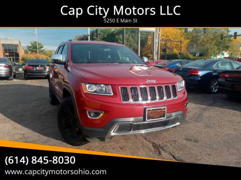 2014 Jeep Grand Cherokee for sale at Cap City Motors LLC in Columbus OH