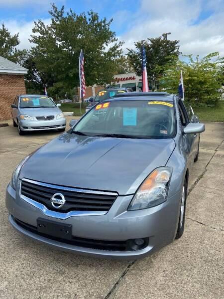 2008 Nissan Altima for sale at Top Auto Sales in Petersburg VA