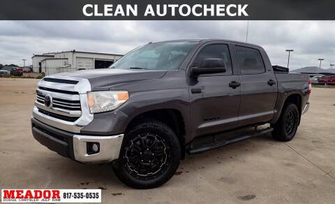2017 Toyota Tundra for sale at Meador Dodge Chrysler Jeep RAM in Fort Worth TX