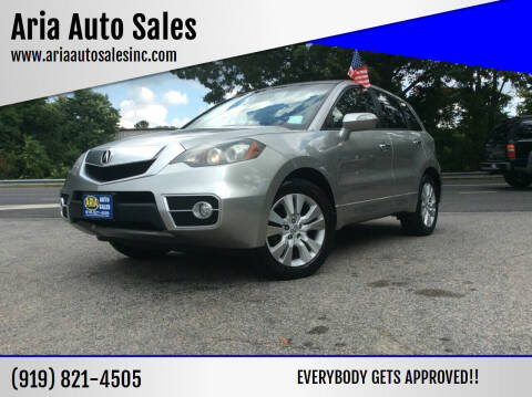 2011 Acura RDX for sale at ARIA  AUTO  SALES in Raleigh NC