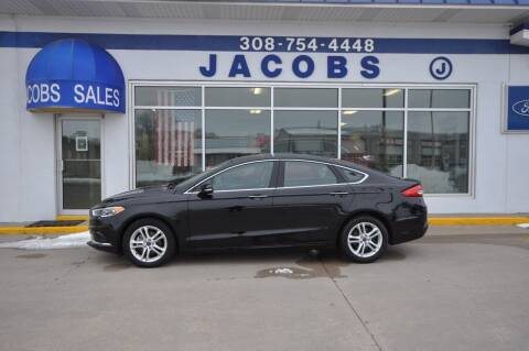 2018 Ford Fusion for sale at Jacobs Ford in Saint Paul NE