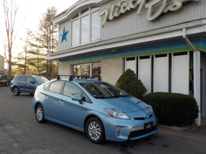2012 Toyota Prius Plug-in Hybrid for sale at Nicky D's in Easthampton MA
