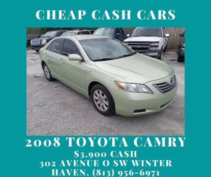 2008 Toyota Camry Hybrid for sale at ROCKLEDGE in Rockledge FL