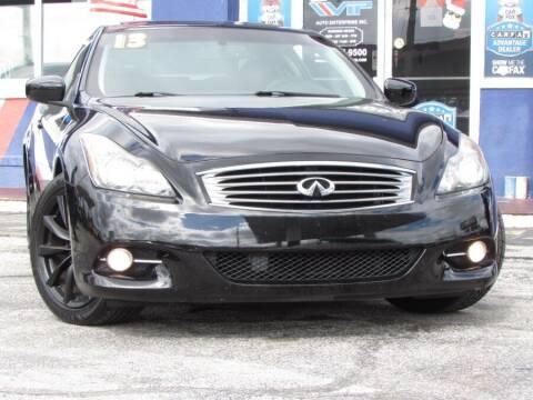 2013 Infiniti G37 Coupe for sale at VIP AUTO ENTERPRISE INC. in Orlando FL