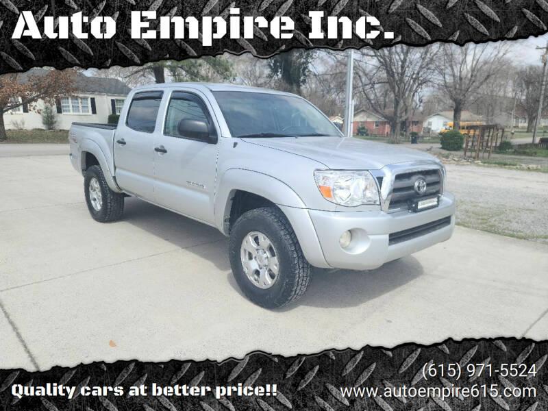 2010 Toyota Tacoma for sale at Auto Empire Inc. in Murfreesboro TN