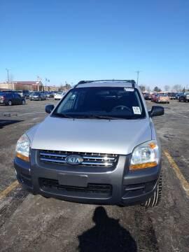 2007 Kia Sportage for sale at WB Auto Sales LLC in Barnum MN