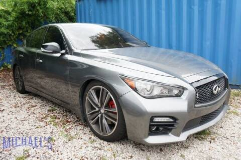 2014 Infiniti Q50 for sale at Michael's Auto Sales Corp in Hollywood FL