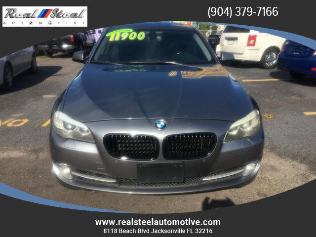 2011 BMW 5 Series for sale at Real Steel Automotive in Jacksonville FL