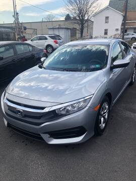 2017 Honda Civic for sale at Red Top Auto Sales in Scranton PA