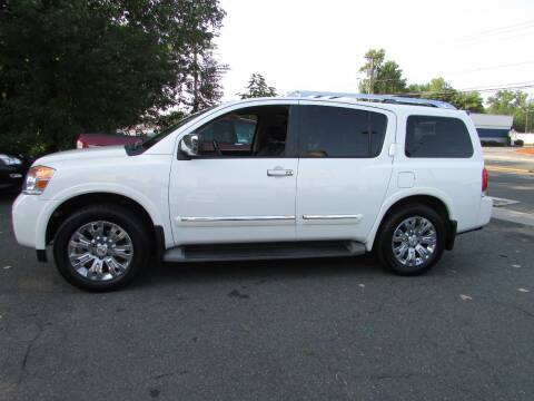 2015 Nissan Armada for sale at Nutmeg Auto Wholesalers Inc in East Hartford CT