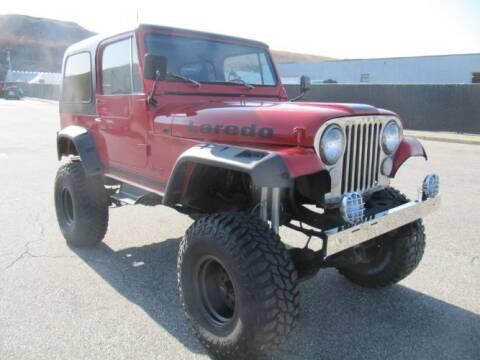 1986 Jeep CJ-7 for sale at Classic Car Deals in Cadillac MI