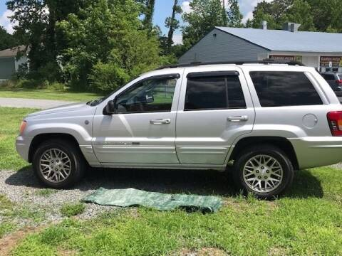 2004 Jeep Grand Cherokee for sale at J Wilgus Cars in Selbyville DE