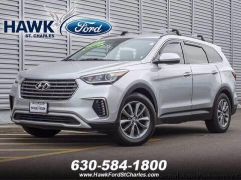 2017 Hyundai Santa Fe for sale at Hawk Ford of St. Charles in Saint Charles IL