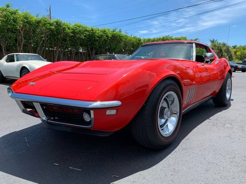 1968 Chevrolet Corvette for sale at American Classics Autotrader LLC in Pompano Beach FL
