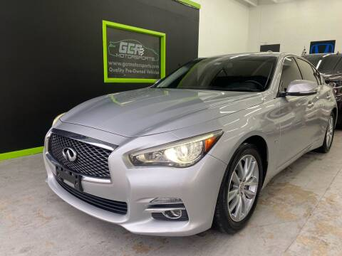 2015 Infiniti Q50 for sale at GCR MOTORSPORTS in Hollywood FL