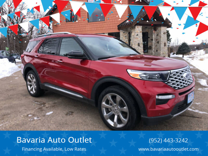 2020 Ford Explorer for sale at Bavaria Auto Outlet in Victoria MN