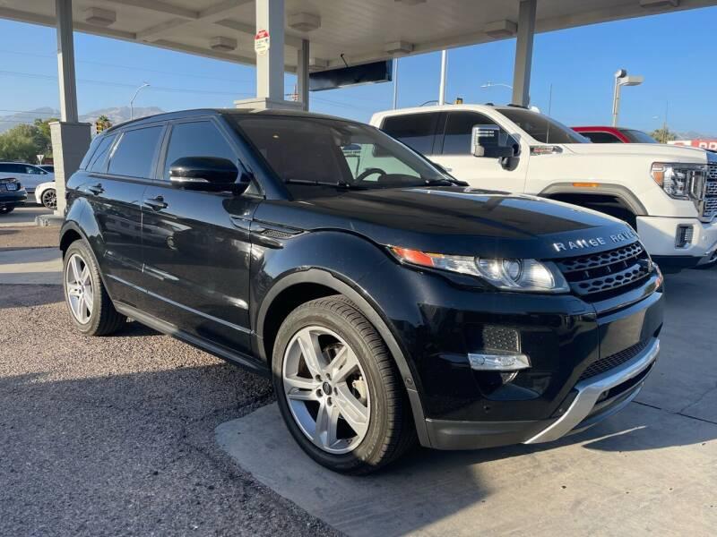 2013 Land Rover Range Rover Evoque for sale at TANQUE VERDE MOTORS in Tucson AZ
