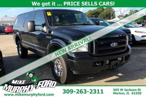 2005 Ford Excursion for sale at Mike Murphy Ford in Morton IL