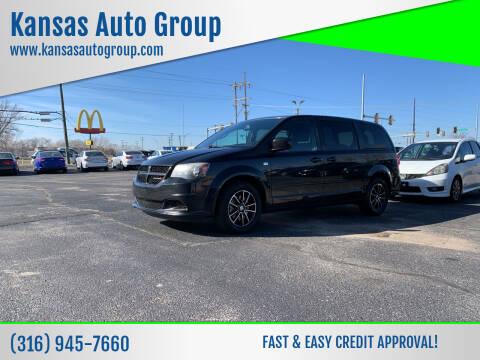 2014 Dodge Grand Caravan for sale at Kansas Auto Group in Wichita KS