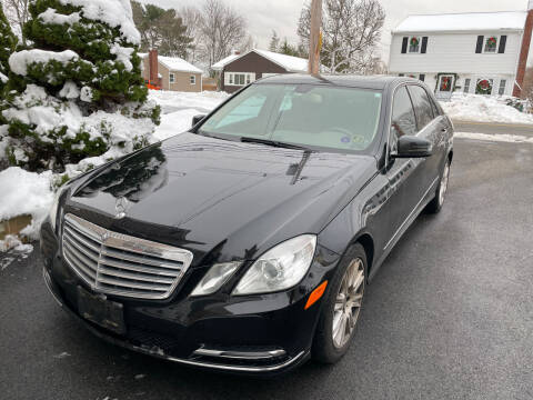 2013 Mercedes-Benz E-Class for sale at Quincy Shore Automotive in Quincy MA