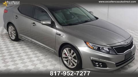 2015 Kia Optima for sale at Excellence Auto Direct in Euless TX