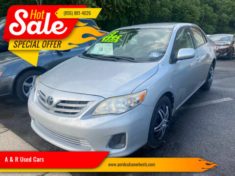 2013 Toyota Corolla for sale at A & R Used Cars in Clayton NJ