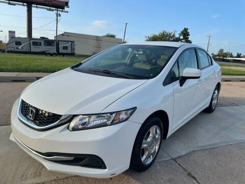 2014 Honda Civic for sale at Automay Car Sales in Oklahoma City OK