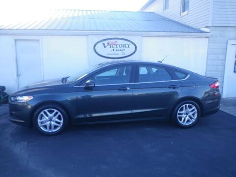 2015 Ford Fusion for sale at VICTORY AUTO in Lewistown PA