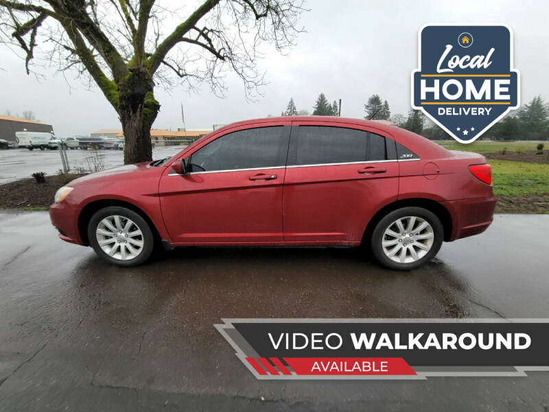 2013 Chrysler 200 for sale at McMinnville Auto Sales LLC in Mcminnville OR