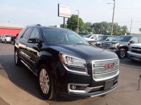 2016 GMC Acadia for sale at Marty's Auto Sales in Savage MN