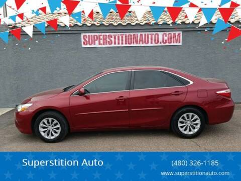 2017 Toyota Camry for sale at Superstition Auto in Mesa AZ