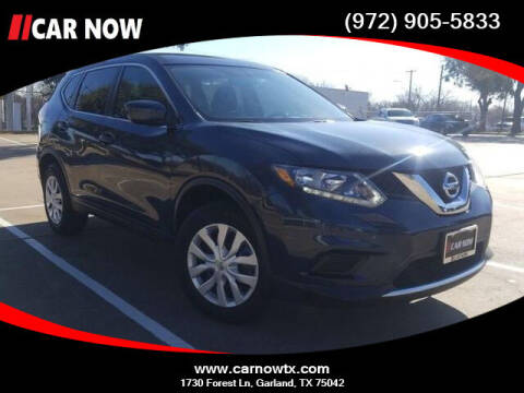 2016 Nissan Rogue for sale at Car Now in Dallas TX