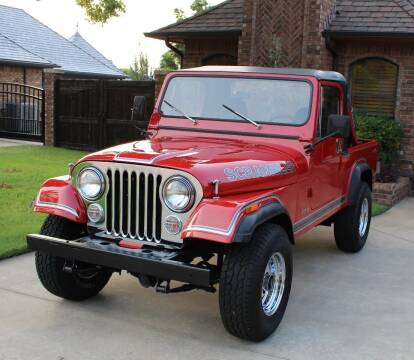 1983 Jeep Scrambler for sale at CANTWEIGHT CLASSICS in Maysville OK