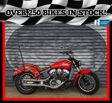 2016 Indian Scout for sale at Motomaxcycles.com in Mesa AZ