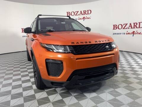 2017 Land Rover Range Rover Evoque for sale at BOZARD FORD in Saint Augustine FL