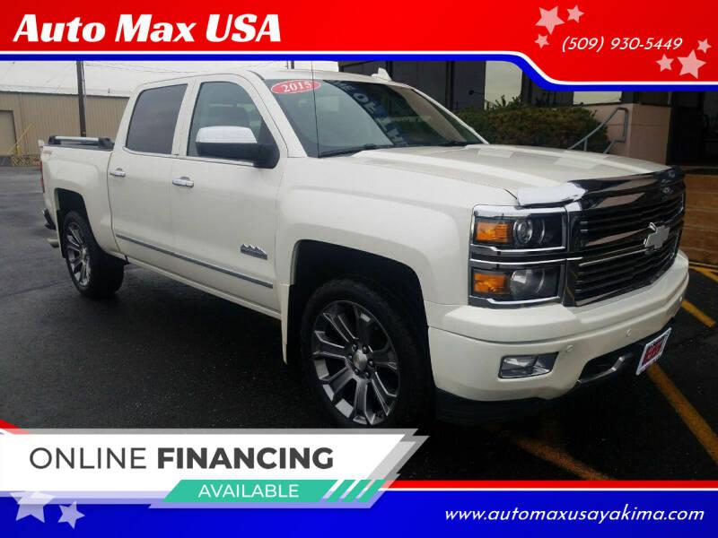 2015 Chevrolet Silverado 1500 for sale at Auto Max USA in Yakima WA