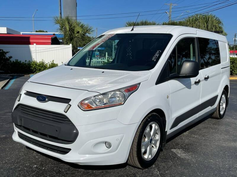 2017 Ford Transit Connect Cargo for sale at RoMicco Cars and Trucks in Tampa FL