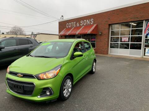 2016 Chevrolet Spark for sale at Cote & Sons Automotive Ctr in Lawrence MA