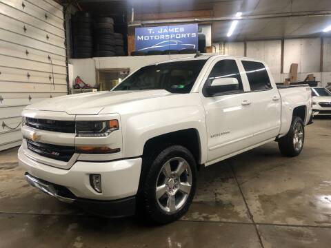 2018 Chevrolet Silverado 1500 for sale at T James Motorsports in Gibsonia PA