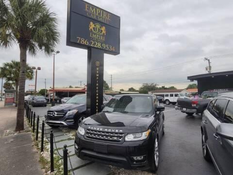 2017 Land Rover Range Rover for sale at Empire Car Sales in Miami FL
